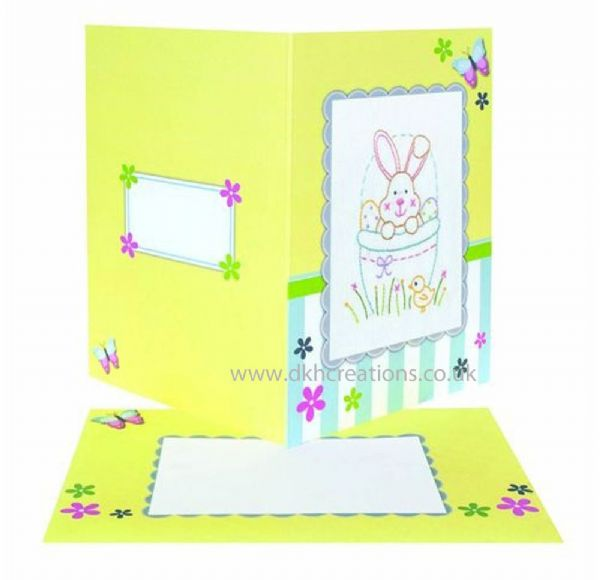 Easter Embroidery Card Kit